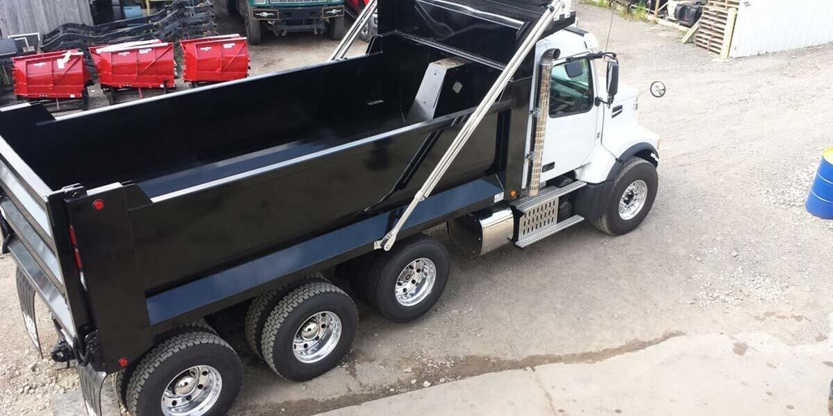 Dump Truck Bodies for Work Trucks - STE Truck Equipment
