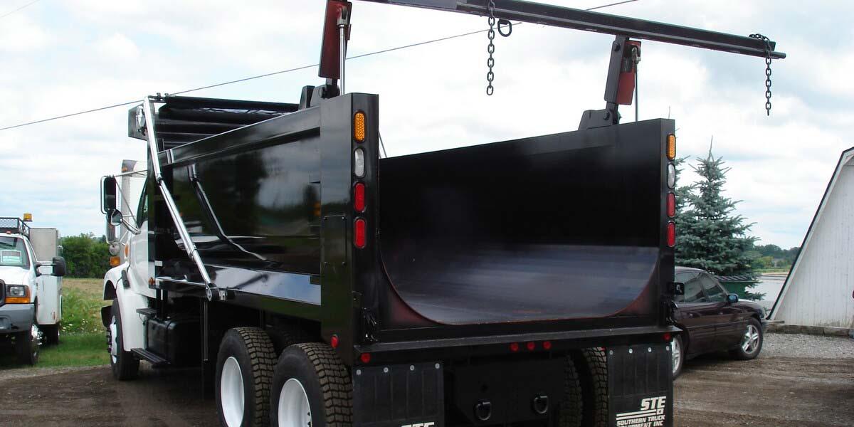 Utility Truck Beds For Sale >> Dump Truck Bodies for Work Trucks - STE Truck Equipment
