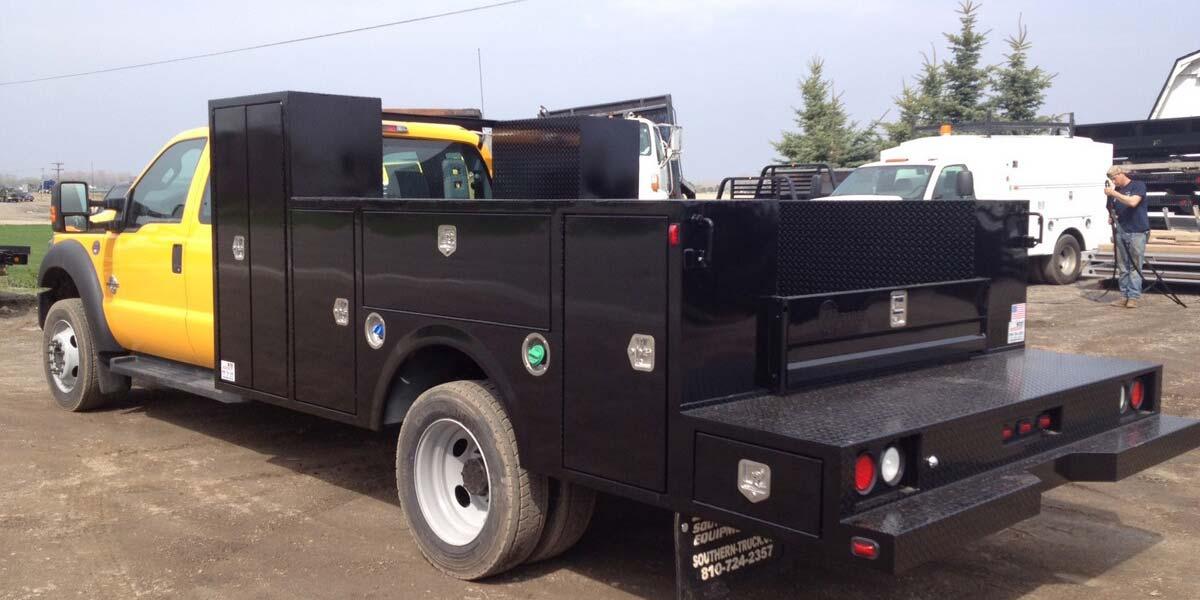 Service Truck Bodies, Utility Bodies - STE Truck Equipment
